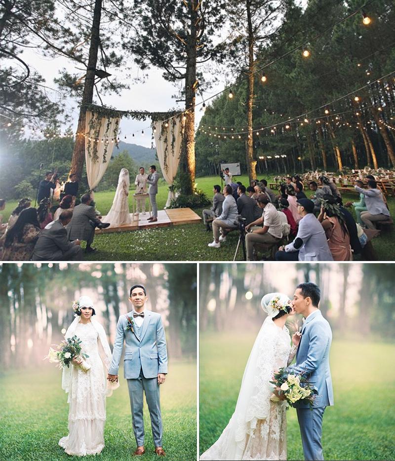 Outdoor Wedding Murah Di Bandung: 7 Uniqueness From Andien Aisyah And Irwan Wahyudi Wedding