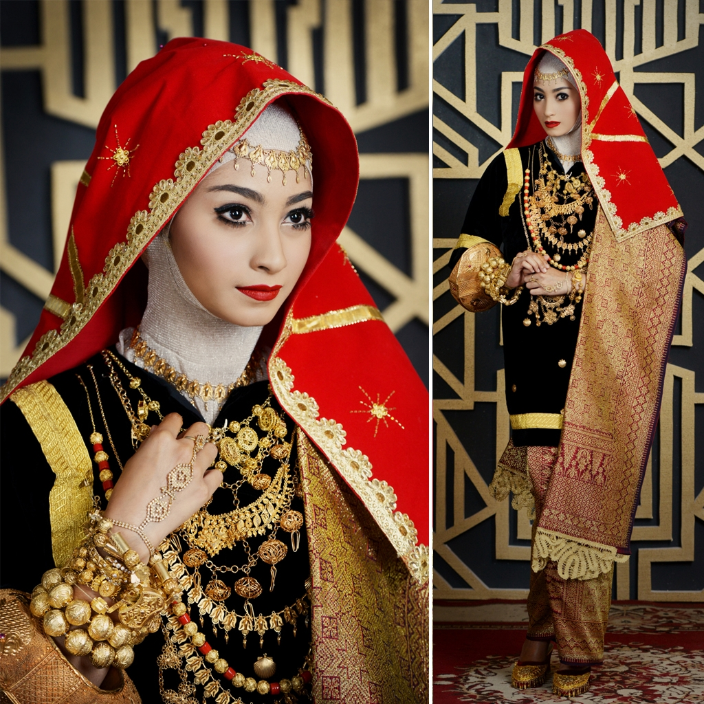 cantik berhijab secantik tradisi   weddingku