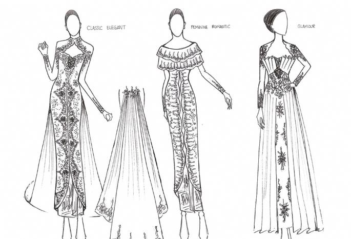 Memilih Desainer Kebaya Pernikahan