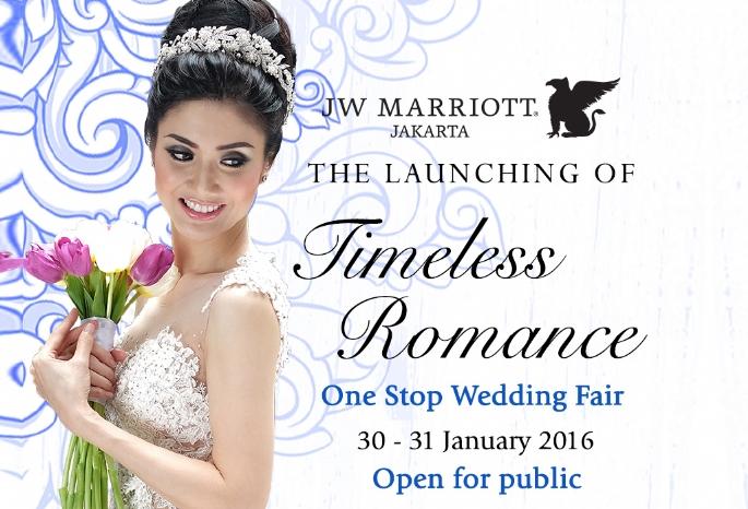 JW Marriott Hotel Jakarta Present You Timeless Romance - One Stop Wedding Package