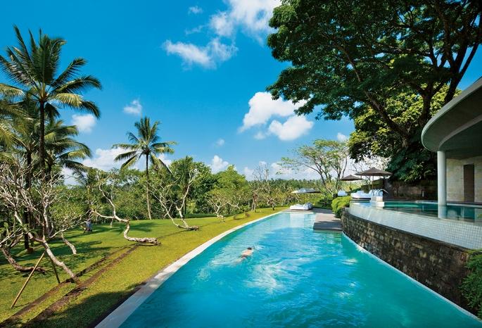 Mencicipi Cinta di Como Shambala Estate, Bali.