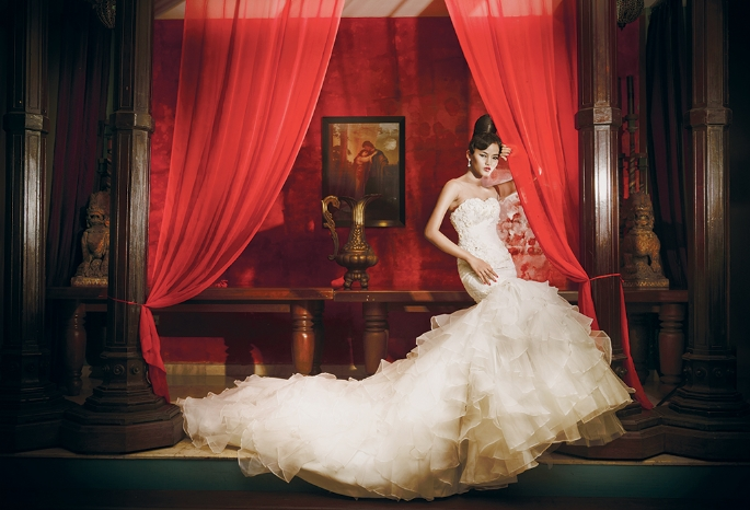 Touch of Oriental Wedding Gowns