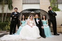 Light & Elegant Wedding Theme For Christian & Alvina In Sense Restaurant