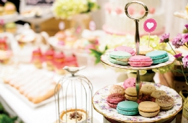 Sweet And Yummy Desserts Table