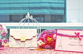 Perfect Pink For Wedding Invitation & Souvenir