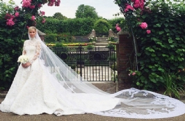 The Flowery Wedding of Nicky Hilton and James Rothschild