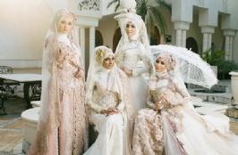 Anggun dan Suci, Gaun Pengantin Muslim
