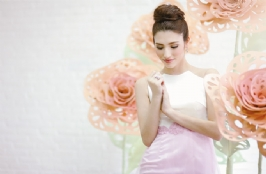 Pastel Colors for Bridesmaid's Gown