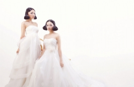 Charming White Wedding Gowns