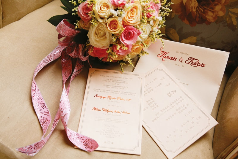 A Simple Wedding Of Kurnia & Felicia In The Empire Place