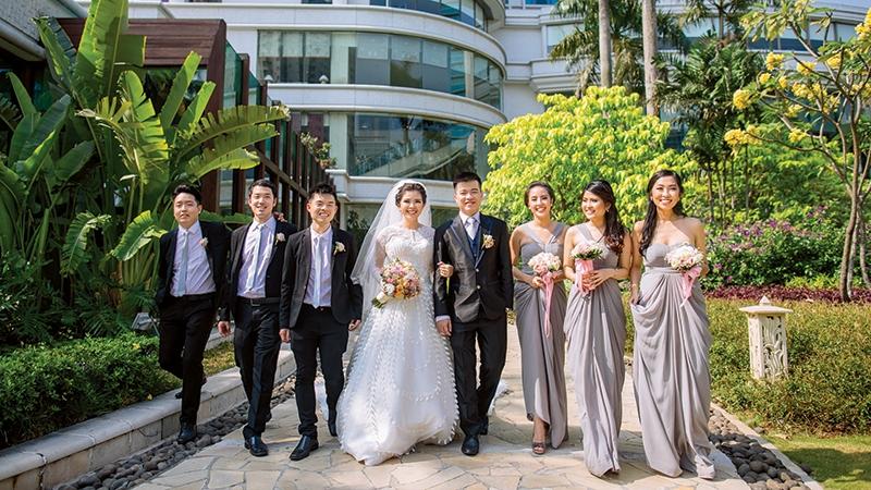 David & Any Enchanted Forest Wedding At Shangri-La Hotel Jakarta
