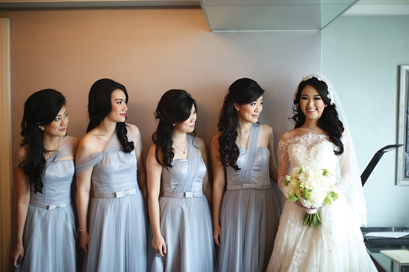 Rifky & Audrey Elegant, Romantic and Glamour Wedding At Hotel Indonesia Kempinski Jakarta
