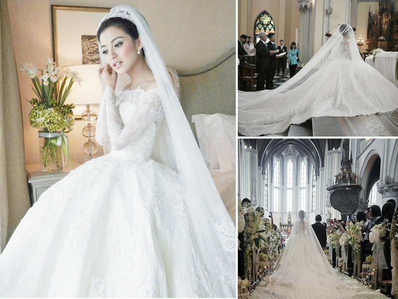 The Dreamy Wedding Gown Of Chelsea Olivia