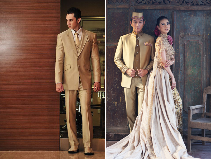 jas atau beskap untuk pengantin pria   weddingku