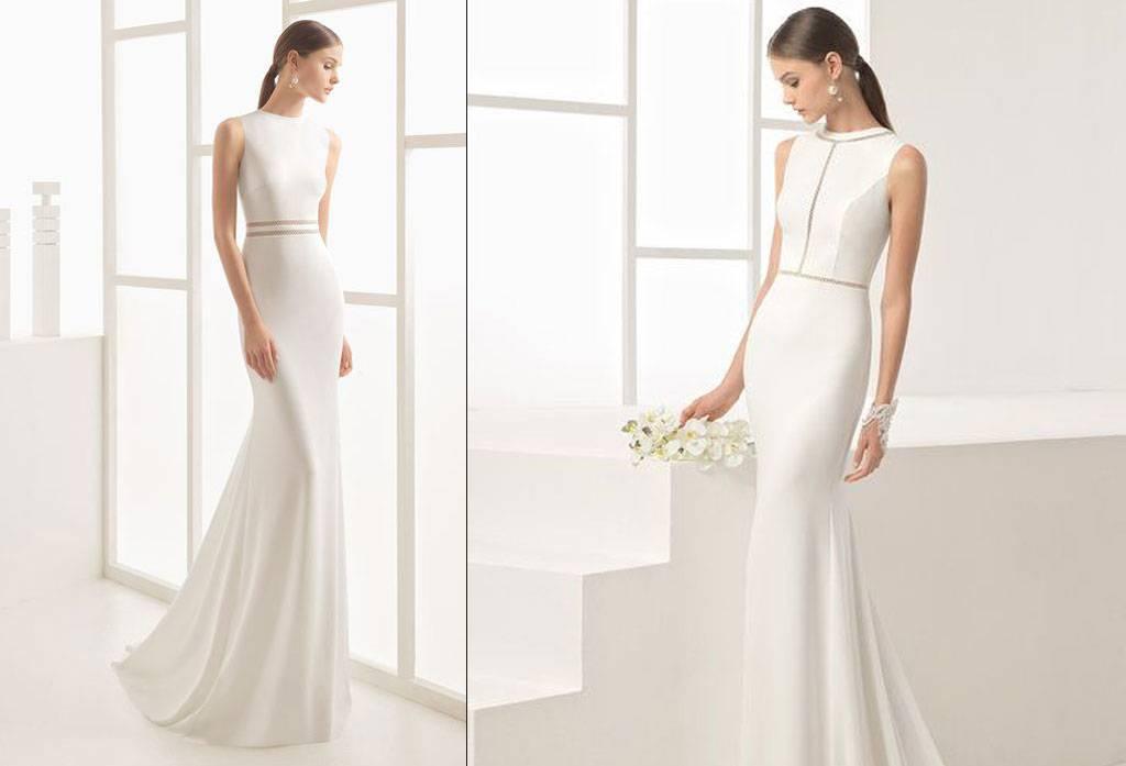 Anggun Memesona Dengan Gaun Pengantin Simpel Elegan Weddingku Com