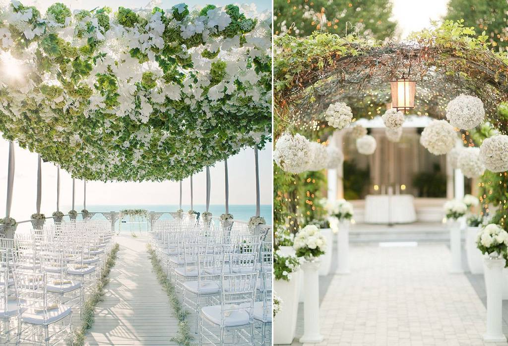 Mana Wedding Aisle Decor Terfavorit Weddingkucom