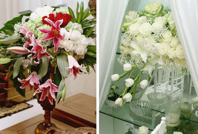 bunga pernikahan cantik dan penuh makna