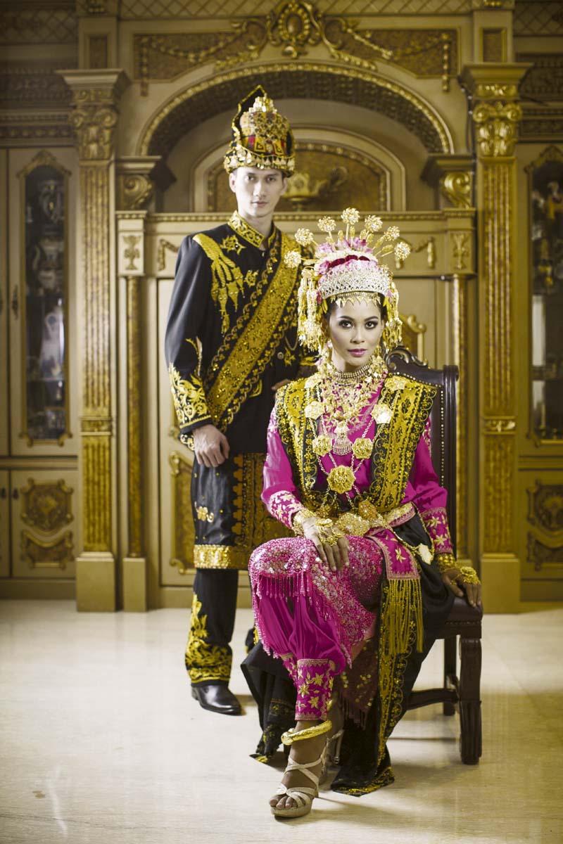 Cantik Elegan Sang Dara Baro - Busana Pengantin Aceh  Weddingku.com