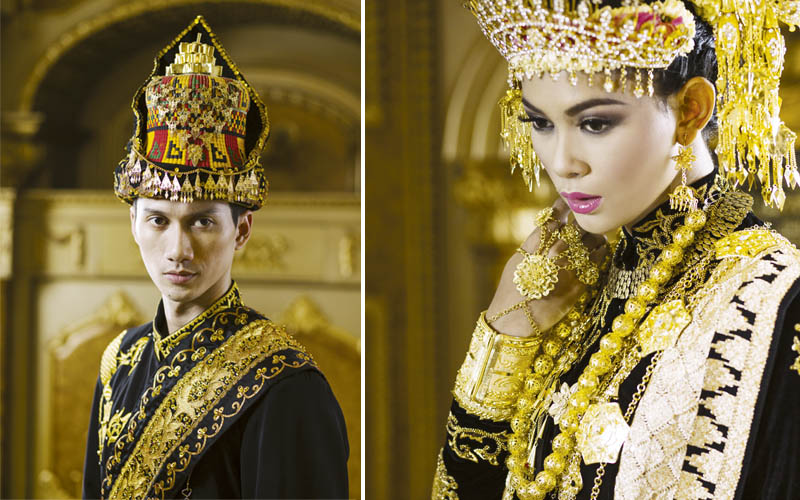 Cantik Elegan Sang Dara Baro - Busana Pengantin Aceh ...