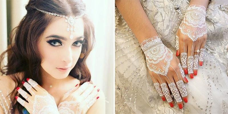 Magnificent White Flowery Wedding Of Nabila And Reshwara Weddingku Com