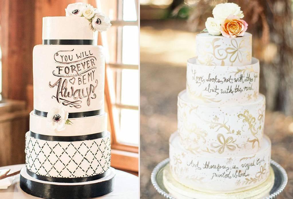 5 Inspirasi Ragam Wedding Cake Weddingku Com