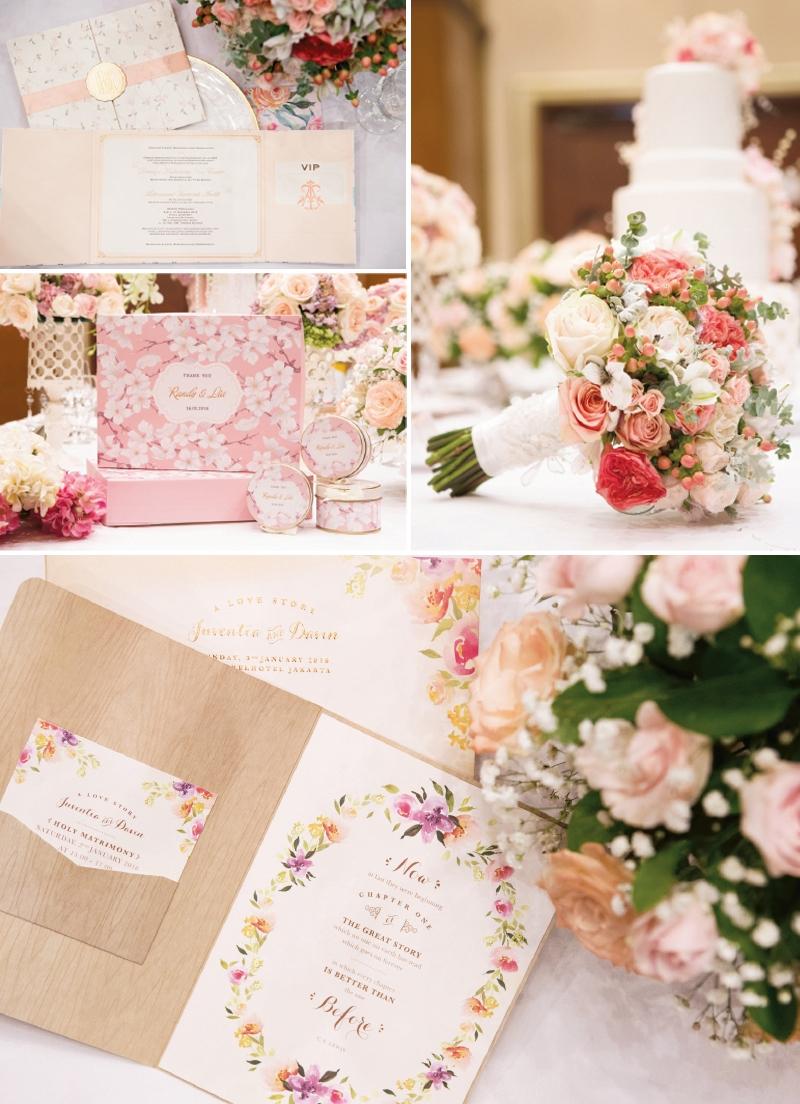 parisian cherry blossom wedding ideas