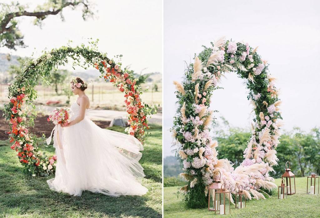 Dekorasi Arch Gate Terindah Jatuh Pada Weddingkucom