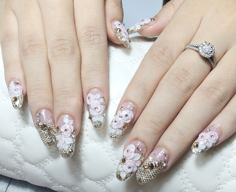 Top 7 Nail Artists Every Bride Will Adore! - Weddingku.com
