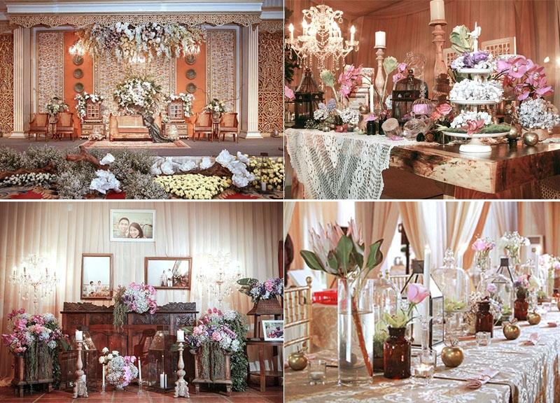 konsep dekorasi wedding tradisional yang modern