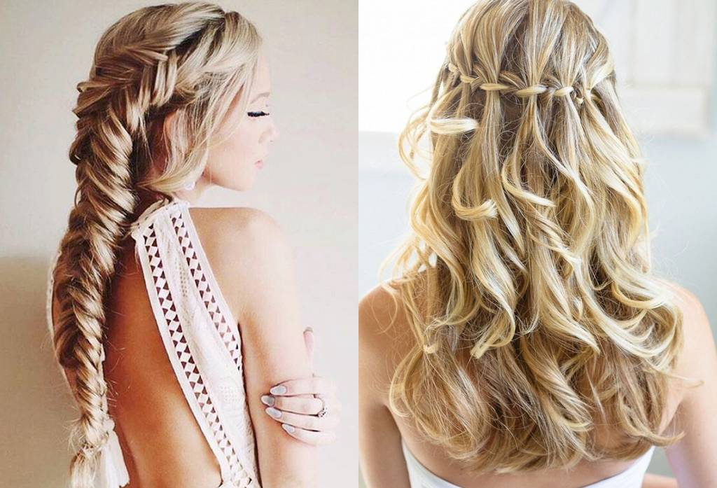 Image result for Waterfall Braid pengantin