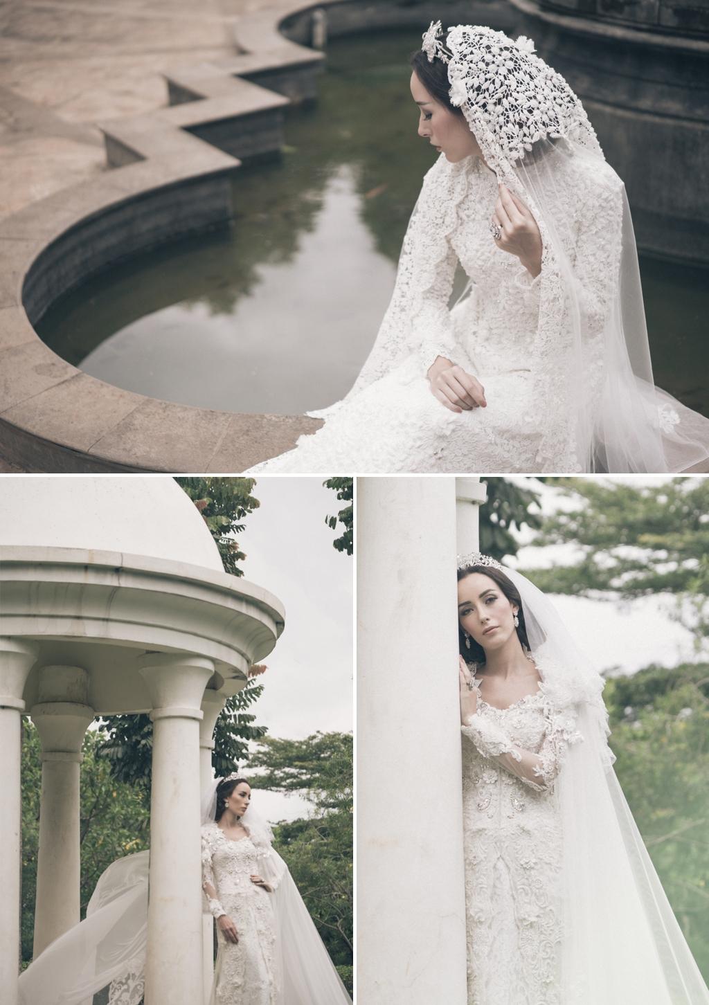 Seindah Kebaya Putih di Taman Hati Weddingku com