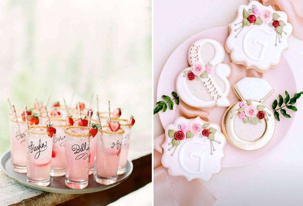 apa saja acara dalam bridal shower intinya makan dan minum enak permainan dan tentunya acara buka kado dari sahabat dan keluarga