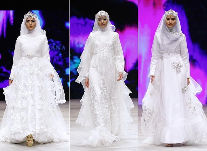 Gaun Pengantin Muslim Pastel Osd Bridal Weddingku Com