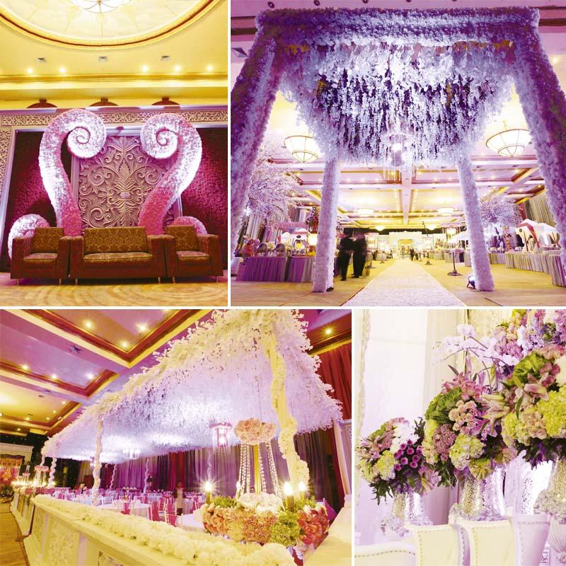 Dekorasi Seindah Putih Sesegar Bunga Weddingkucom