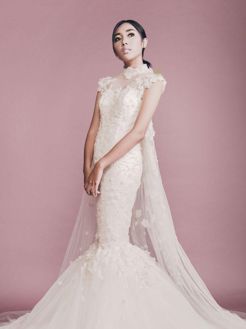 8 Inspirasi Gaun Pengantin Modern  Weddingku.com