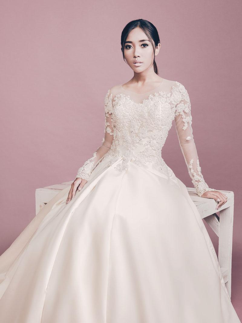 6 Inspirasi Gaun Pengantin Modern Weddingku Com