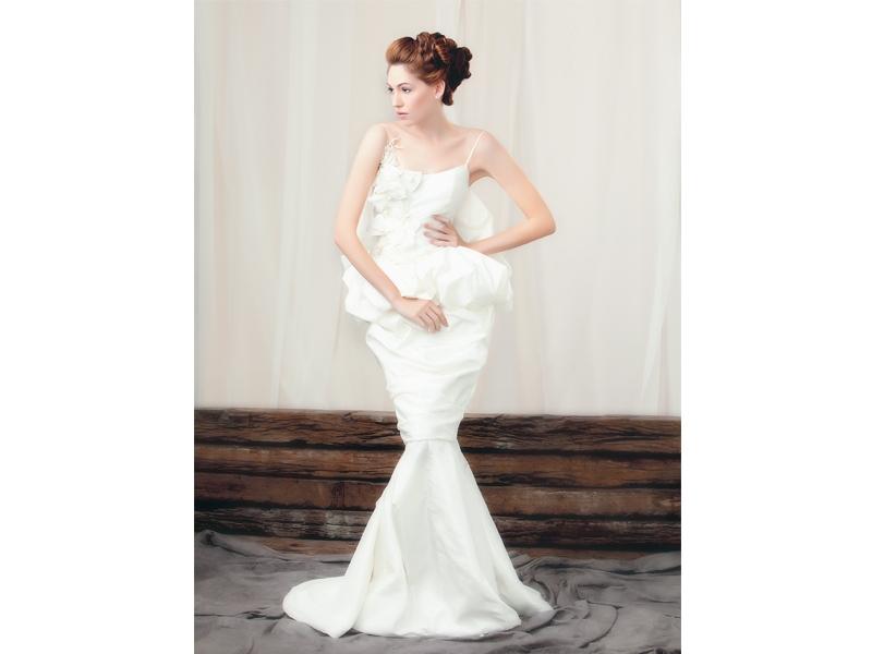 Simple Wedding Dress Accessories : Simple elegant wedding gown weddingku