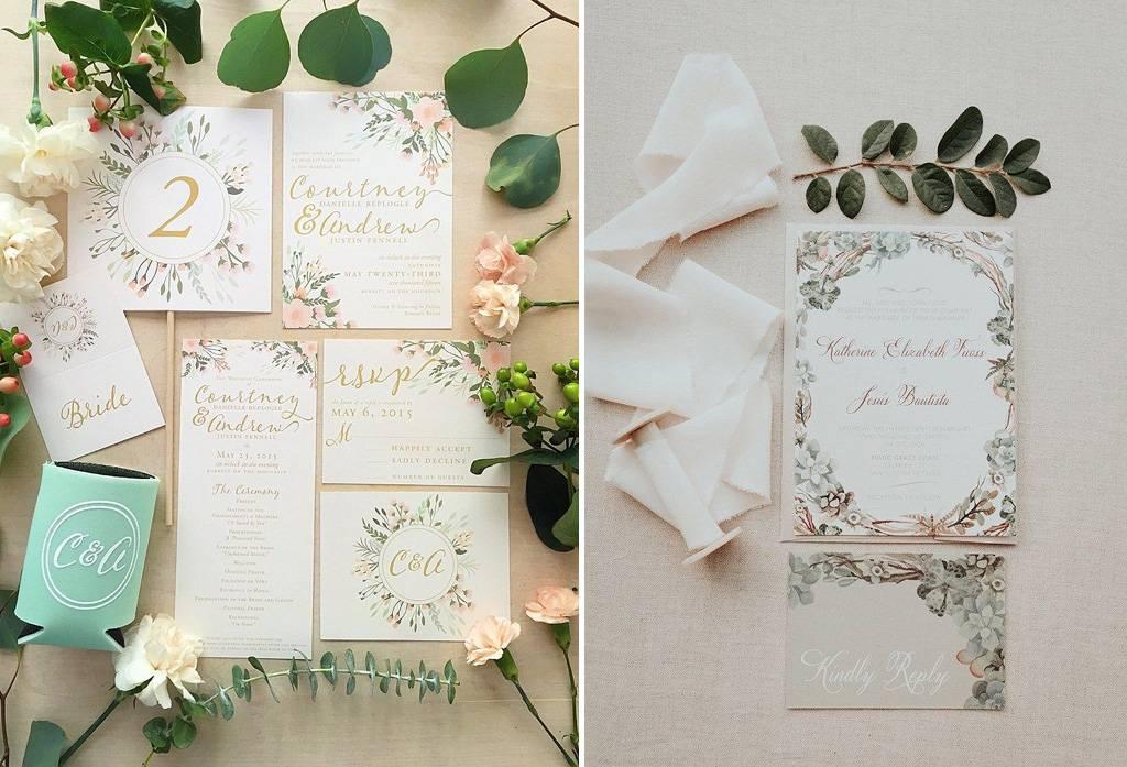 5 Style Desain Undangan Pernikahan Yang Menarik Weddingku Com