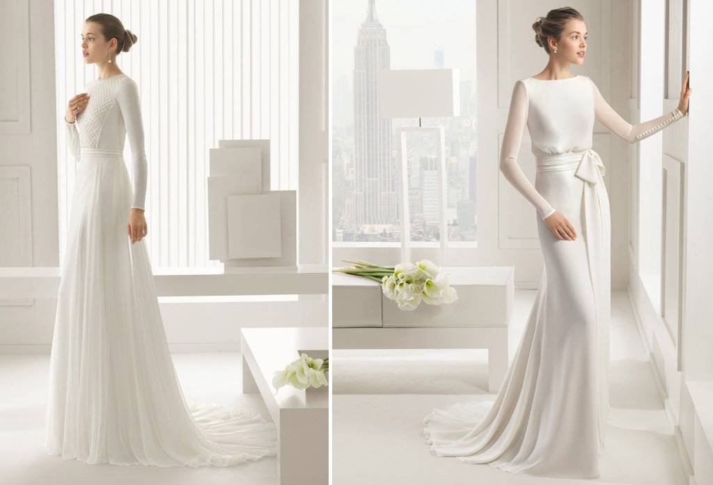 5 Model Gaun Pengantin Lengan Panjang Yang Memikat Weddingku Com