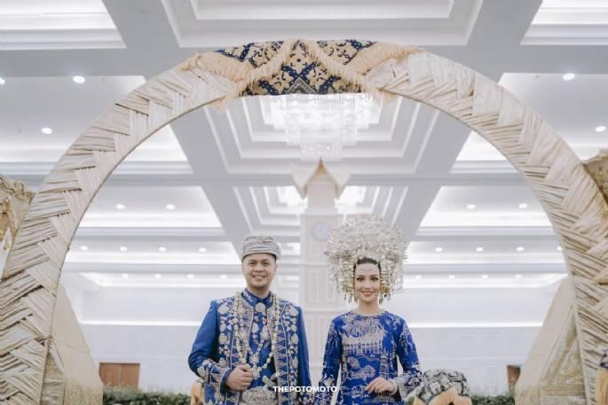 Nina & Rangga Melangsungkan Pernikahan Adat Minang Bersama IKK Wedding