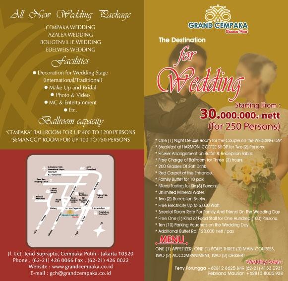grand cempaka ballroom hotel weddingkucom