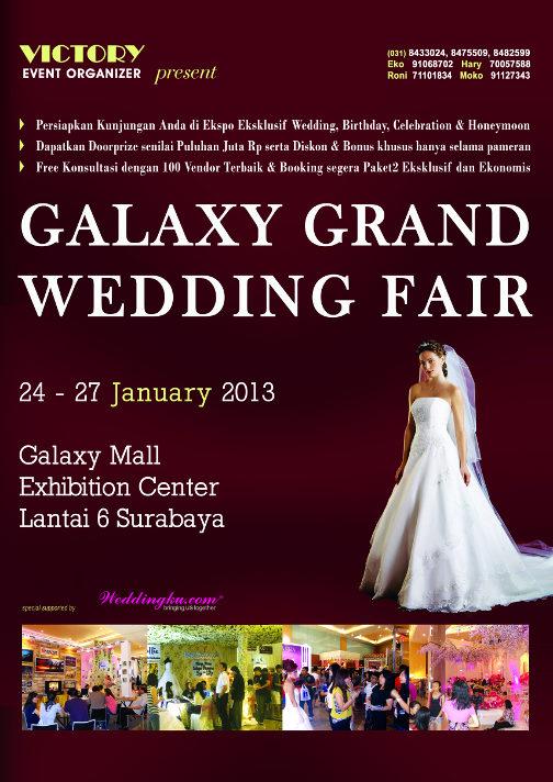 Hari Kamis Minggu Tanggal 24 27 January 2018 Tempat Galaxy Mall Exhibition Center Lantai 6 Surabaya