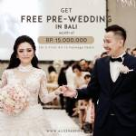 Free Prewedding Bali for All-In Package Deal