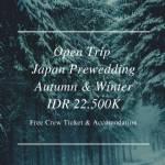 Japan Prewedding | Autumn & Winter