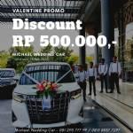 Valentine Promo Michael Wedding Car