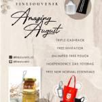 AMAZING AUGUST AT FINE SOUVENIR