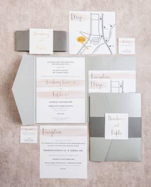 SentimeterCard Wedding Invitation