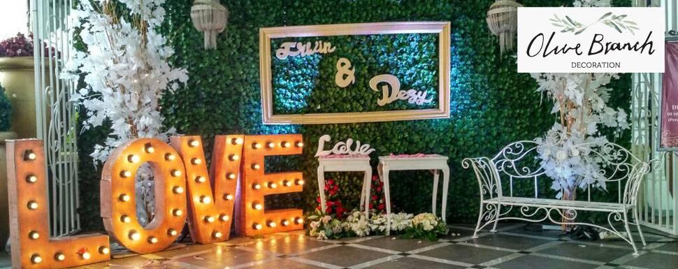 Olive Branch Decoration