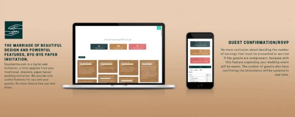 Sayaterima.com | Digital Invitation