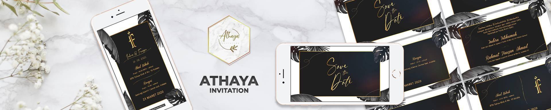 Athaya Invitation